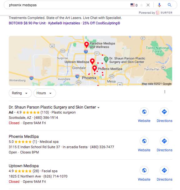 12 Medspa Marketing Strategies Google Map